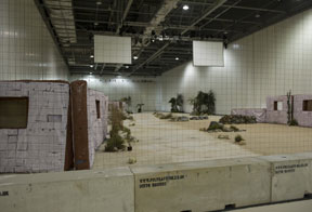 concrete barriers for exhibitions