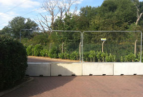 concrete barriers for heras fencing