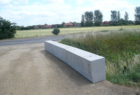 concrete barriers for safety