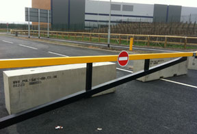 concrete barriers to buy as a barricade