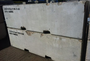 special offers on ex rental concrete barriers