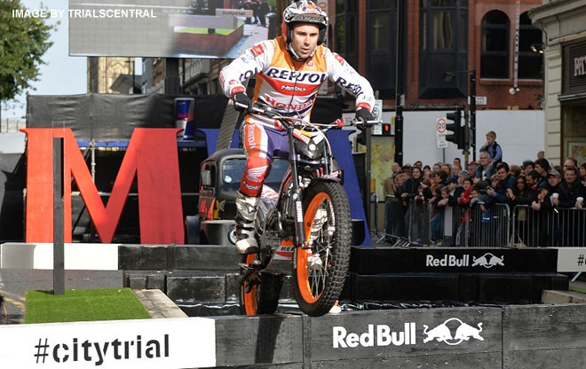 Polysafe barriers used at Red Bull City Trial
